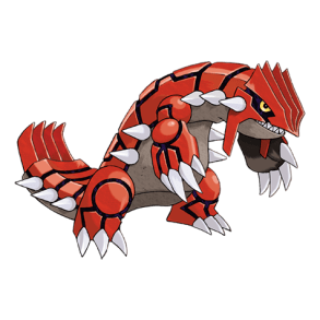 This is the boring original Groudon.