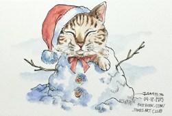 Frosty Kitty