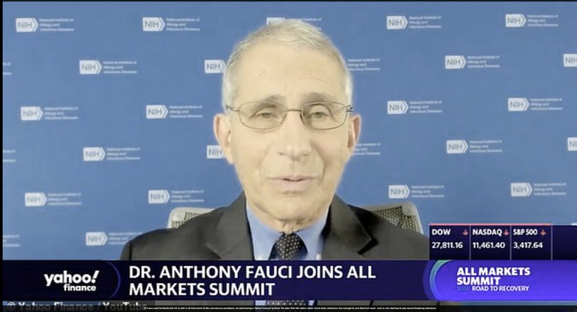 Fauci just tanked the covid19 vaccine program – And no one noticed Fauxi2