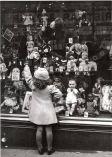 Vintage Christmas Store Window Display