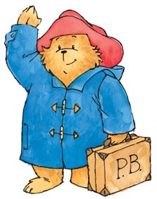 Paddington Bear, author Michael Bond.
