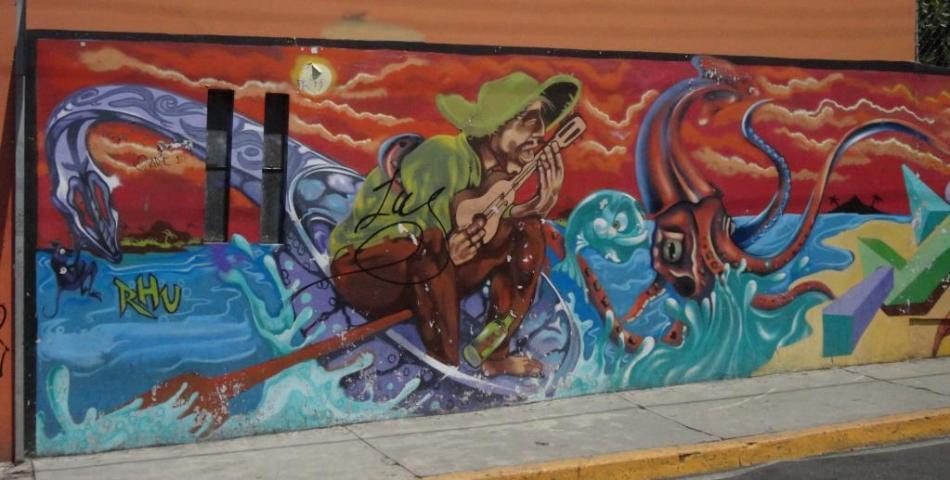 Street Art, Oaxaca, Mexico