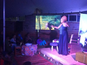Maimouna Jallow performs