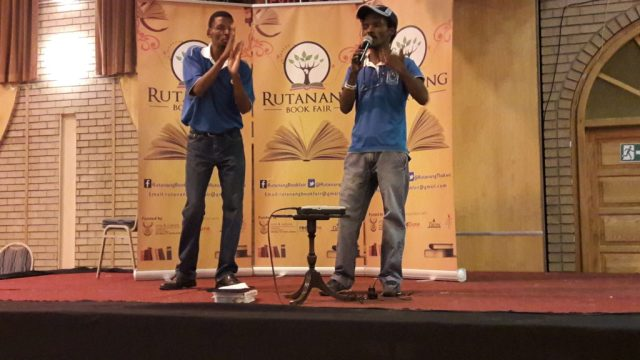 Young Achievers Club speak in English and sign