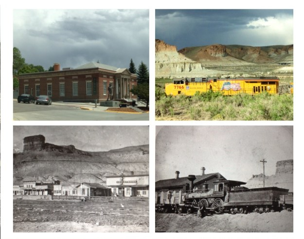 'Green River Now and Then' Sweetwater Museum, Union Pacific Train, Early Green River and the Original Train Station