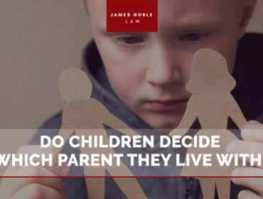 Do Children Decide Which Parent They Live With