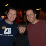 Chris, Trey and I at a bowling event