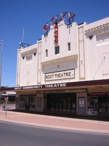 Roxy Theatre in Leeton