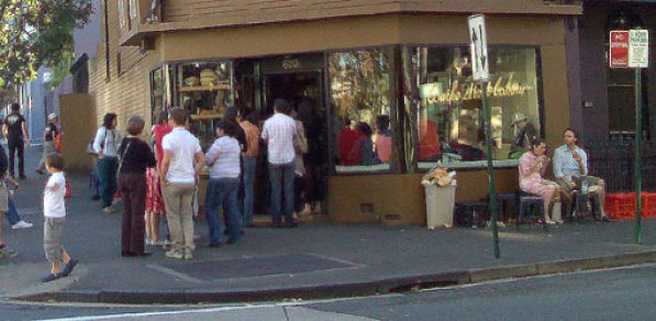 Surry Hills must be the only place outside the former Soviet Union where people queue for bread.