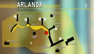 Arlanda Airport from Stockholm-Arlanda