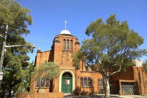 St. George Antiochian Orthodox Cathedral, Walker Street, Redfern