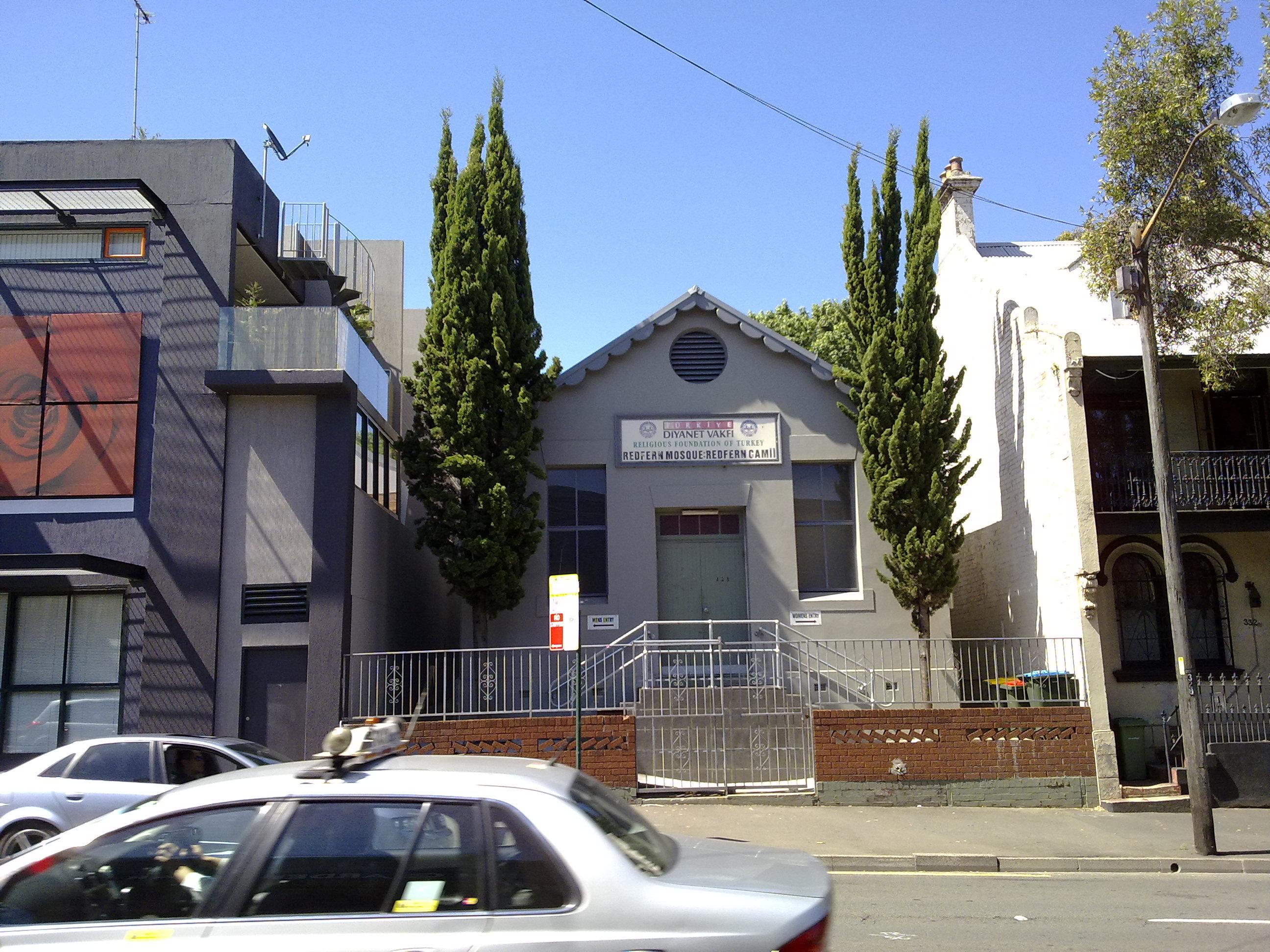 Redfern Mosque, Cleveland Street, Redfern