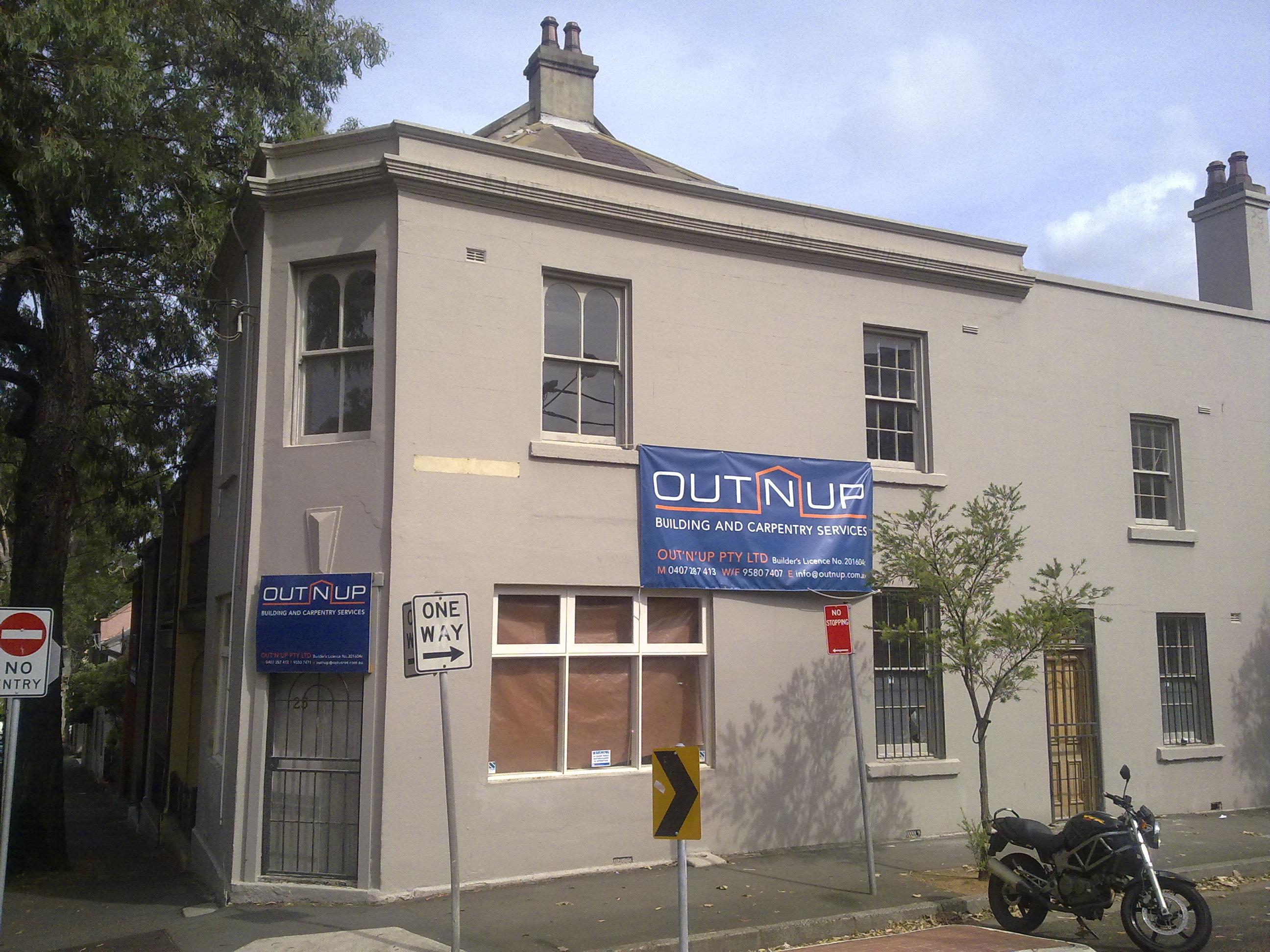 Lansdowne Street in Surry Hills
