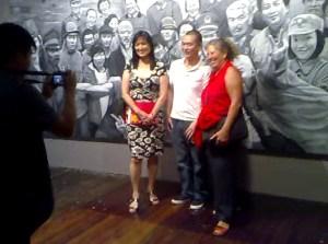 Phoebe Alexander, Guo Jian, Kate Croll