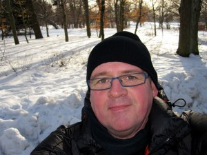 In snow in Norrkoping
