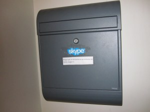 Accidentally discovered Skype HQ