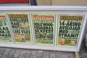 The news today from Sweden