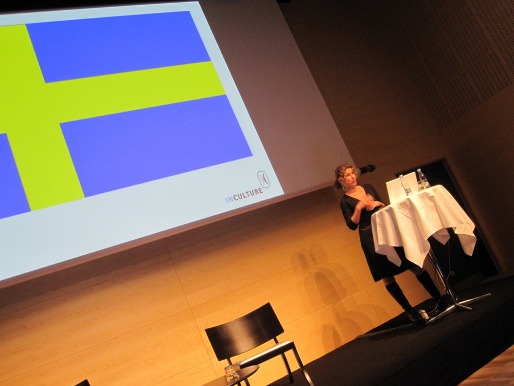Katarine Grafmann talks about the research she has done into Swedish teens