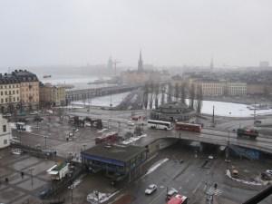 Stockholm this week, viewed from Katarinahissen