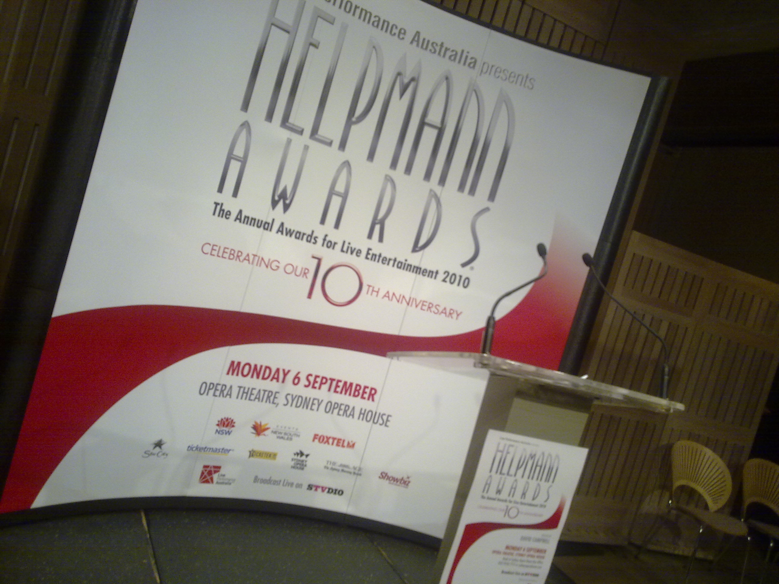 Helpmann Awards Finalists
