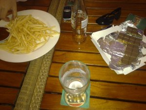 Chips, Beer and Chocolate