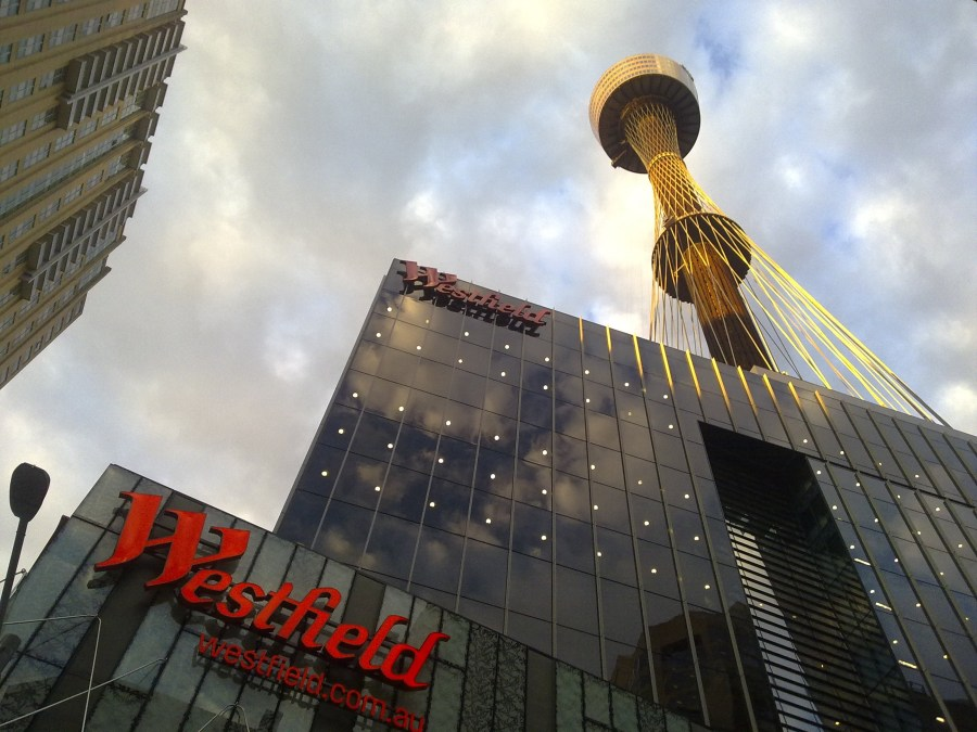 Westfield in Sydney CBD