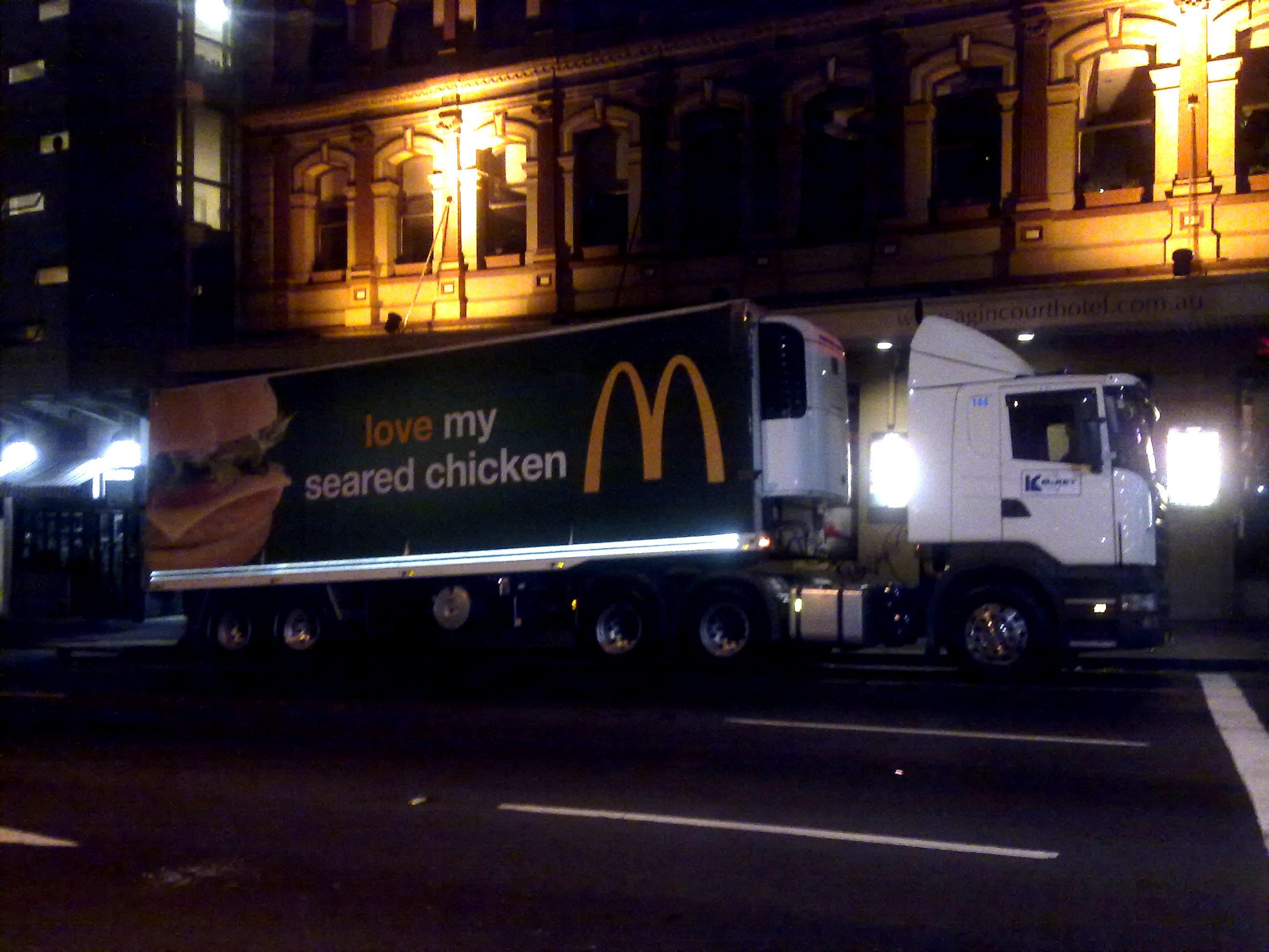 The McDonalds Truck