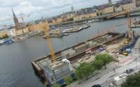 Stockholm under construction