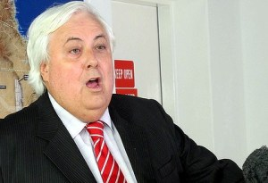 Clive Palmer from The Brisbane Times