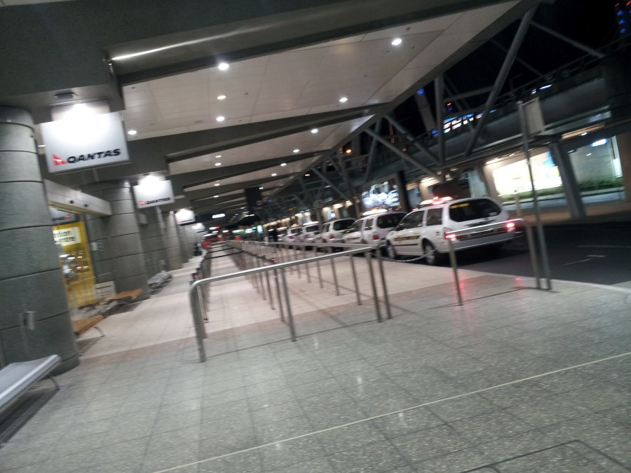 Sydney Airport Taxi Queue