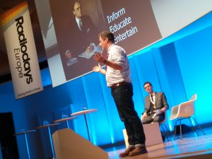 Ben Cooper, BBC Radio 1 controller speaks at Radio Days Europe