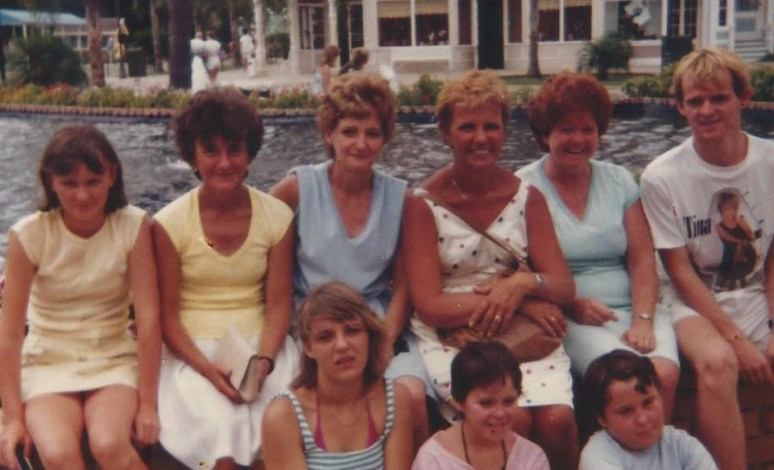 Family visit to Dream World, Queensland, probably about 1984 judging by the Tina Turner t-shirt