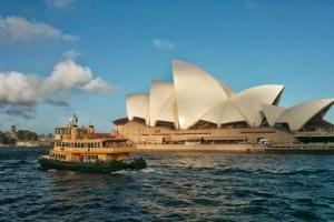 Sydney Opera House and Sydney Ferry