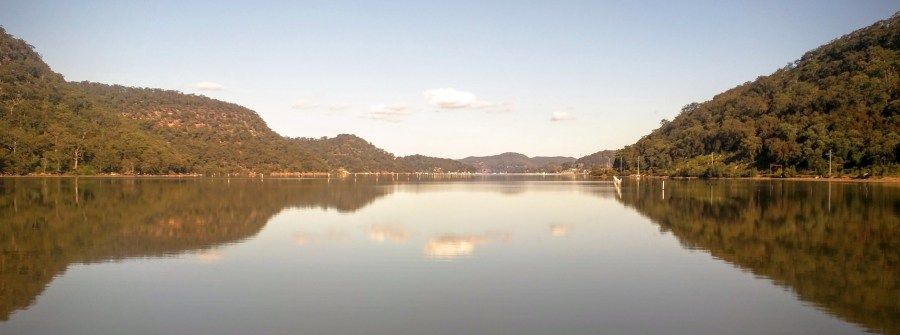 Hawkesbury River, north of Sydney, Australia
