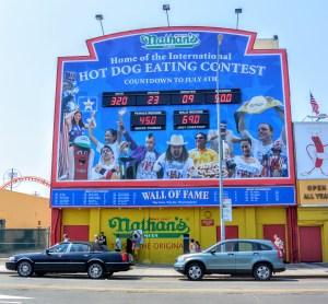 Hotdog Eating at Coney Island
