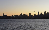 Sydney viewed from the Manly Ferry