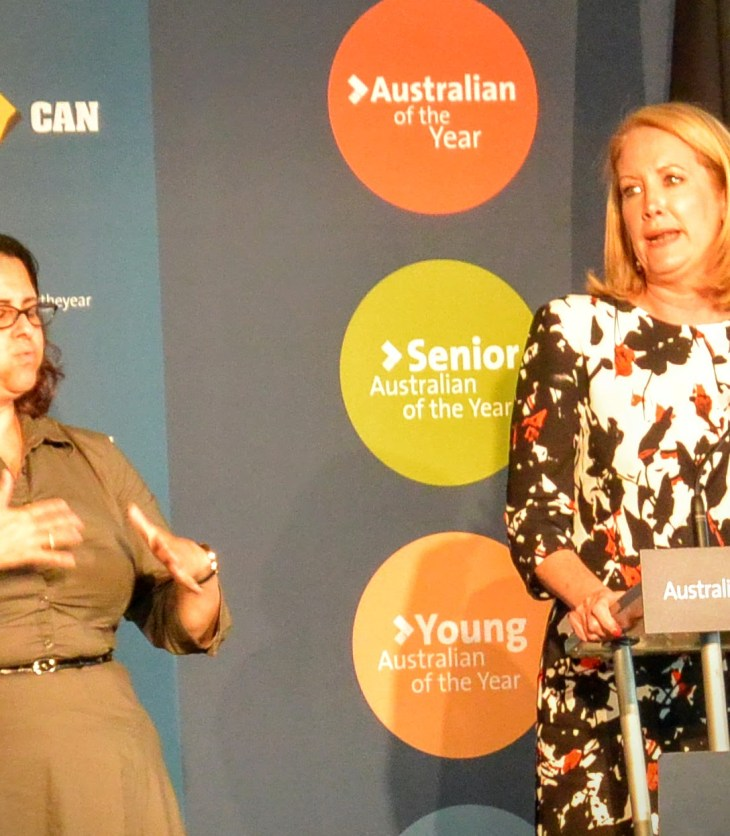 Elizabeth Broderick has been named NSW Australian of the Year for 2016.