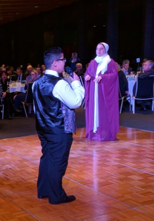 Amity College Choir performs at #affinityiftar dinner at the NSW Parliament House.