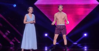 David Lindgren steals the show at Melodifestivalen 2017
