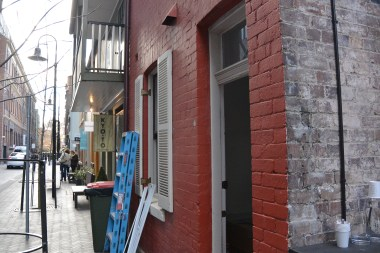 Dating back to the 1840s, the buildings of Kenginston Street, Chippendale