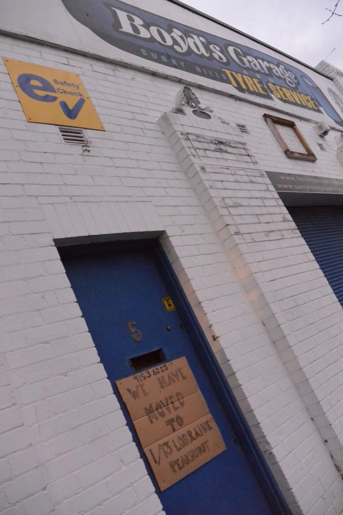 Nickson Street Garage