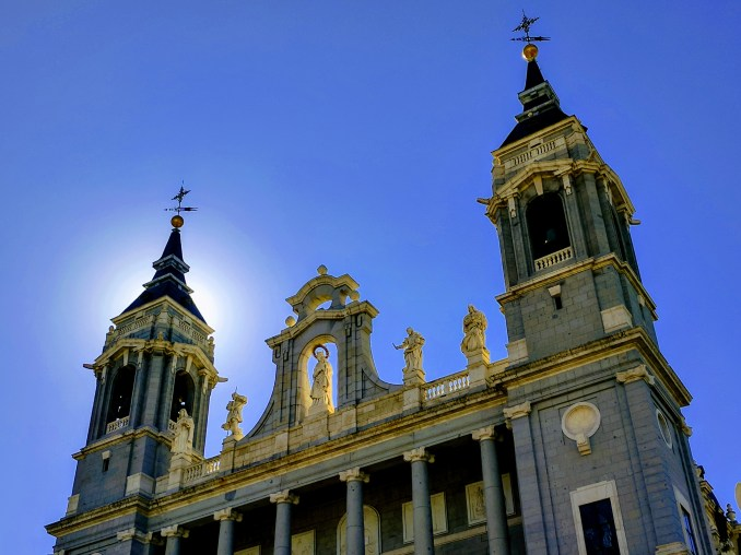 Catholic Cathedral in Madrid