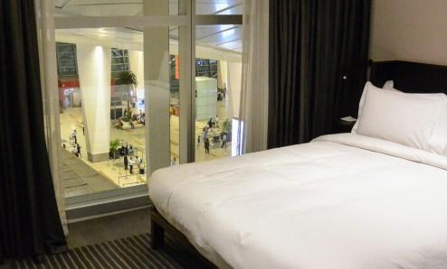 Hilton Express Hotel Room at Indira Ghandi Airport
