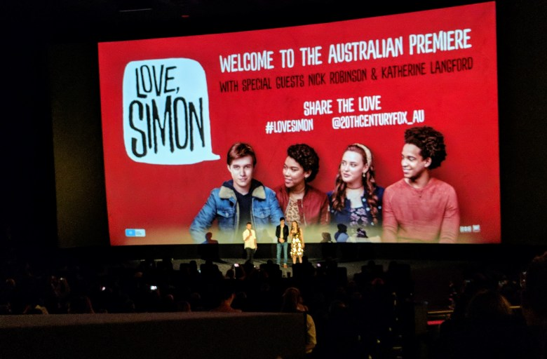 Love, Simon Premiere in Sydney