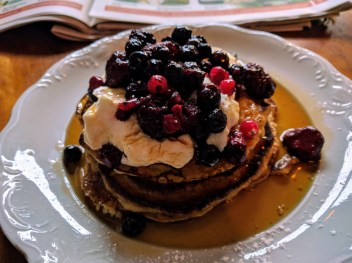 Berry Pancakes at Fernside Cafe, Surry Hills