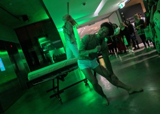 Performance art MCA Art Bar