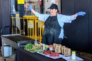 Cooking Demonstration at NAIDOC Arts Festival