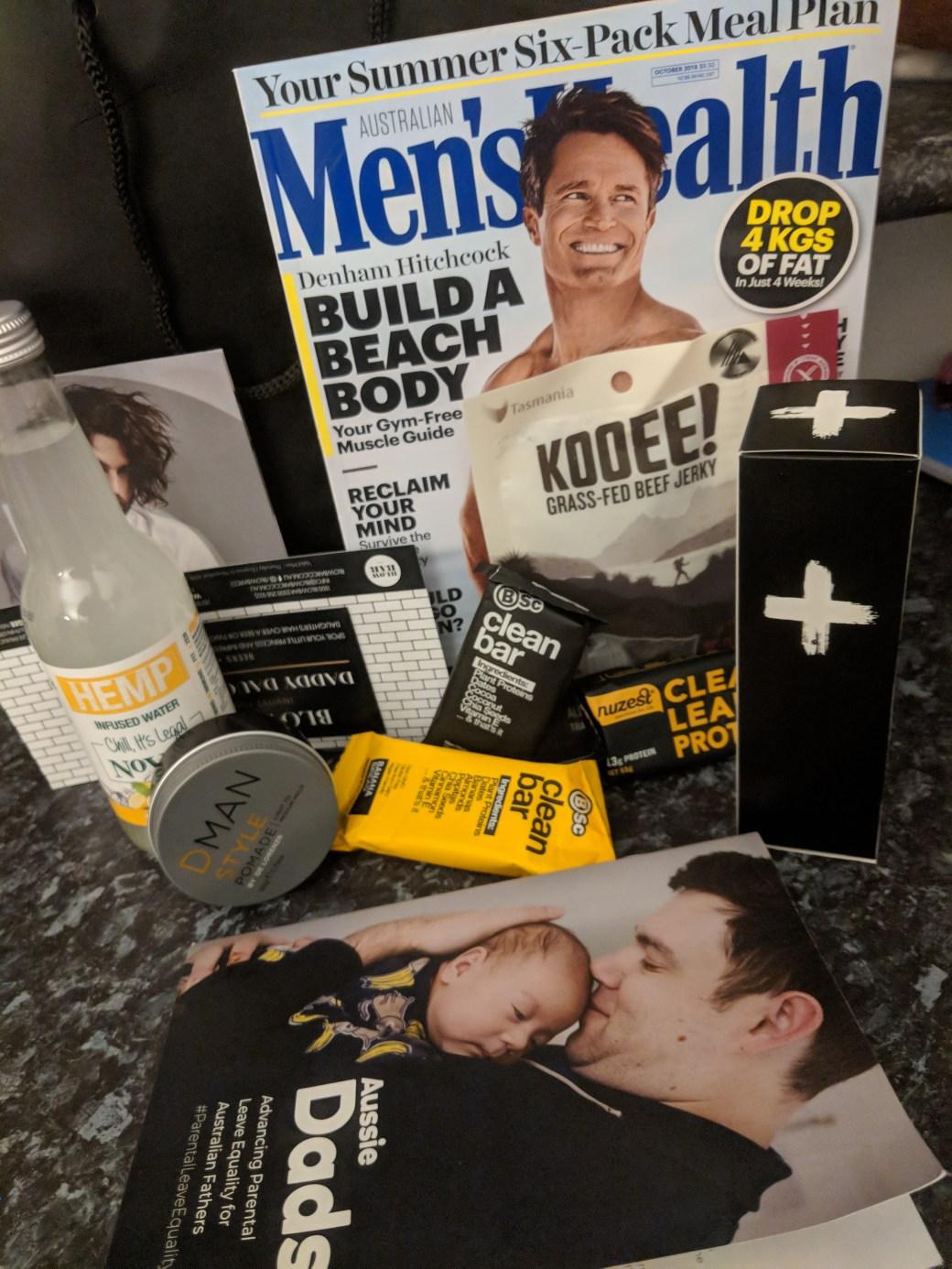 Mens Health Freebies
