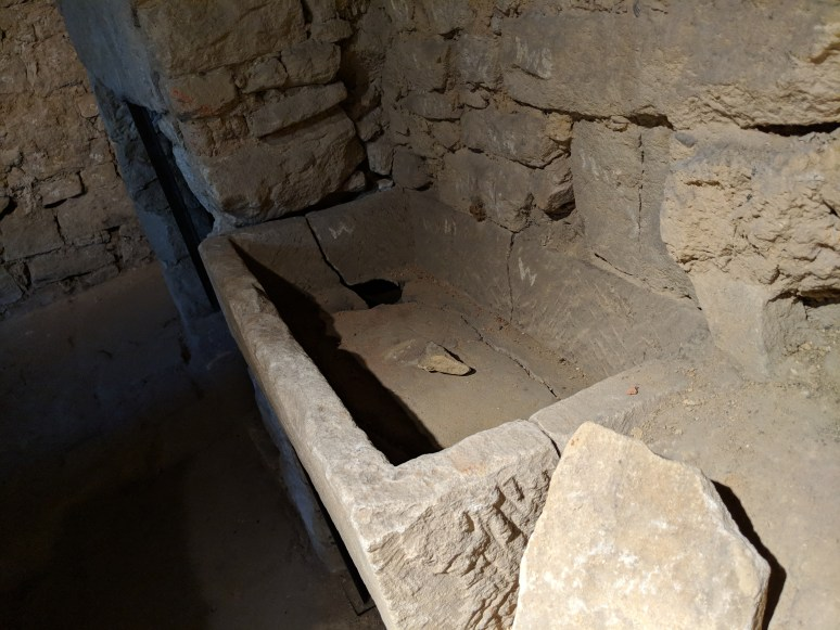 Sink at the Parbury Ruins