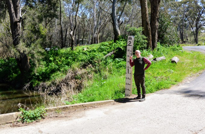 Not far from The Cascades Lookout at Ophir, NSW